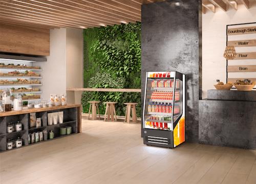 Commercial display fridges